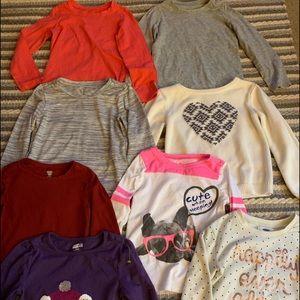 Girl shirt lot